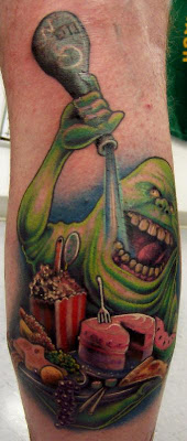 Ghostbuster Tattoo Design Picture Gallery - Ghostbuster Tattoo Ideas