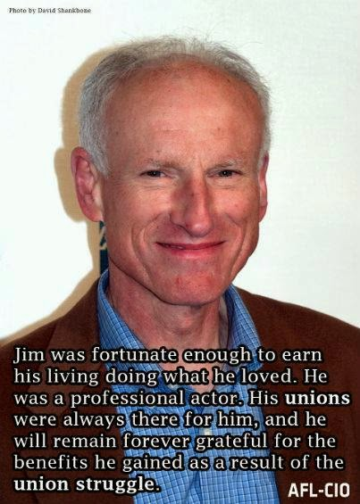 Actor James Rebhorn Knew