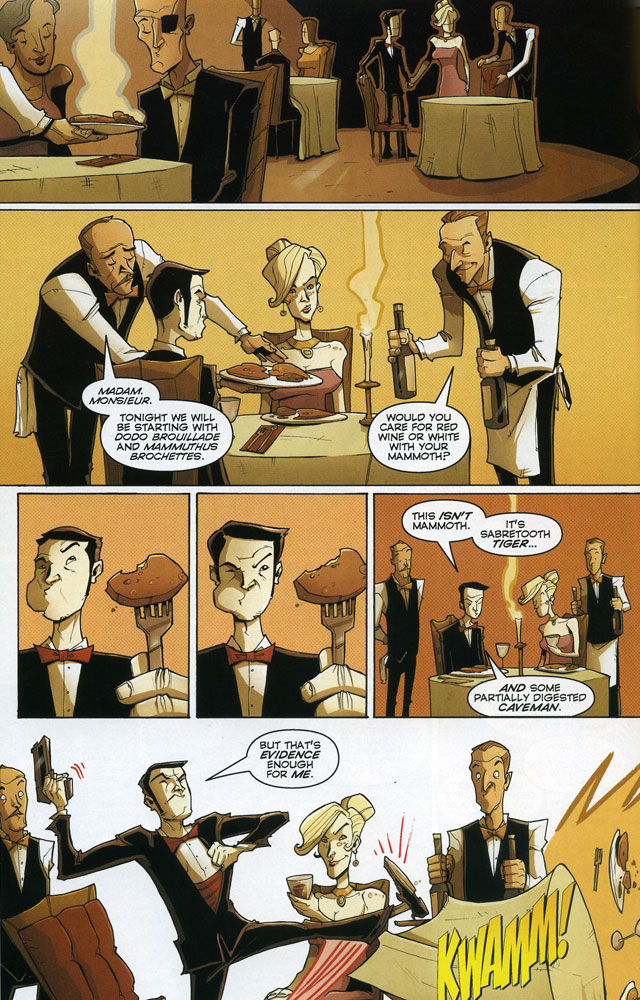 Chew #11 by John Layman and Rob Guillory