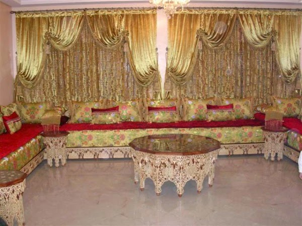 Fantastique artisanat la d coration de salon traditionnel - Salon beldi marocain decoration ...