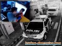 Polisi Cekik Petugas