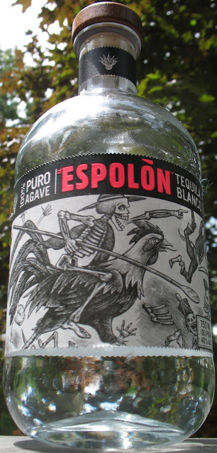 750ml bottle of Espolon Tequila Blanco