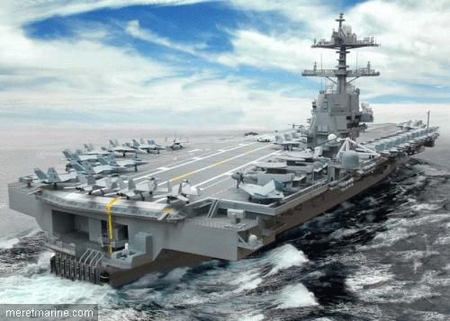 Poder o militar 03 13 12 for Porte avions gerald r ford