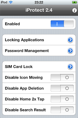 iProtect 2.6 - iOS iPhone 4 / iPad 1 / iPod Touch