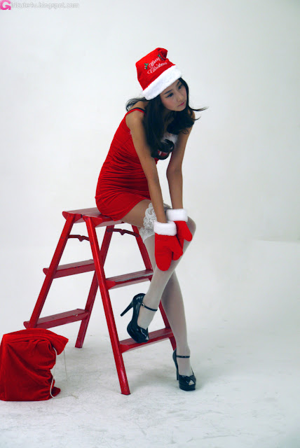 2 Santa Park Hyun Sun-very cute asian girl-girlcute4u.blogspot.com