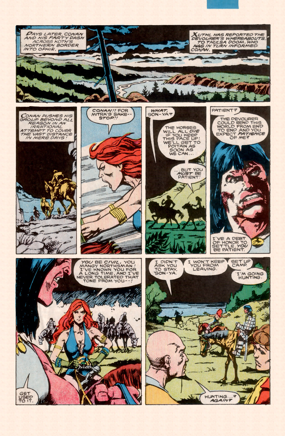 Conan the Barbarian (1970) Issue #200 #212 - English 18