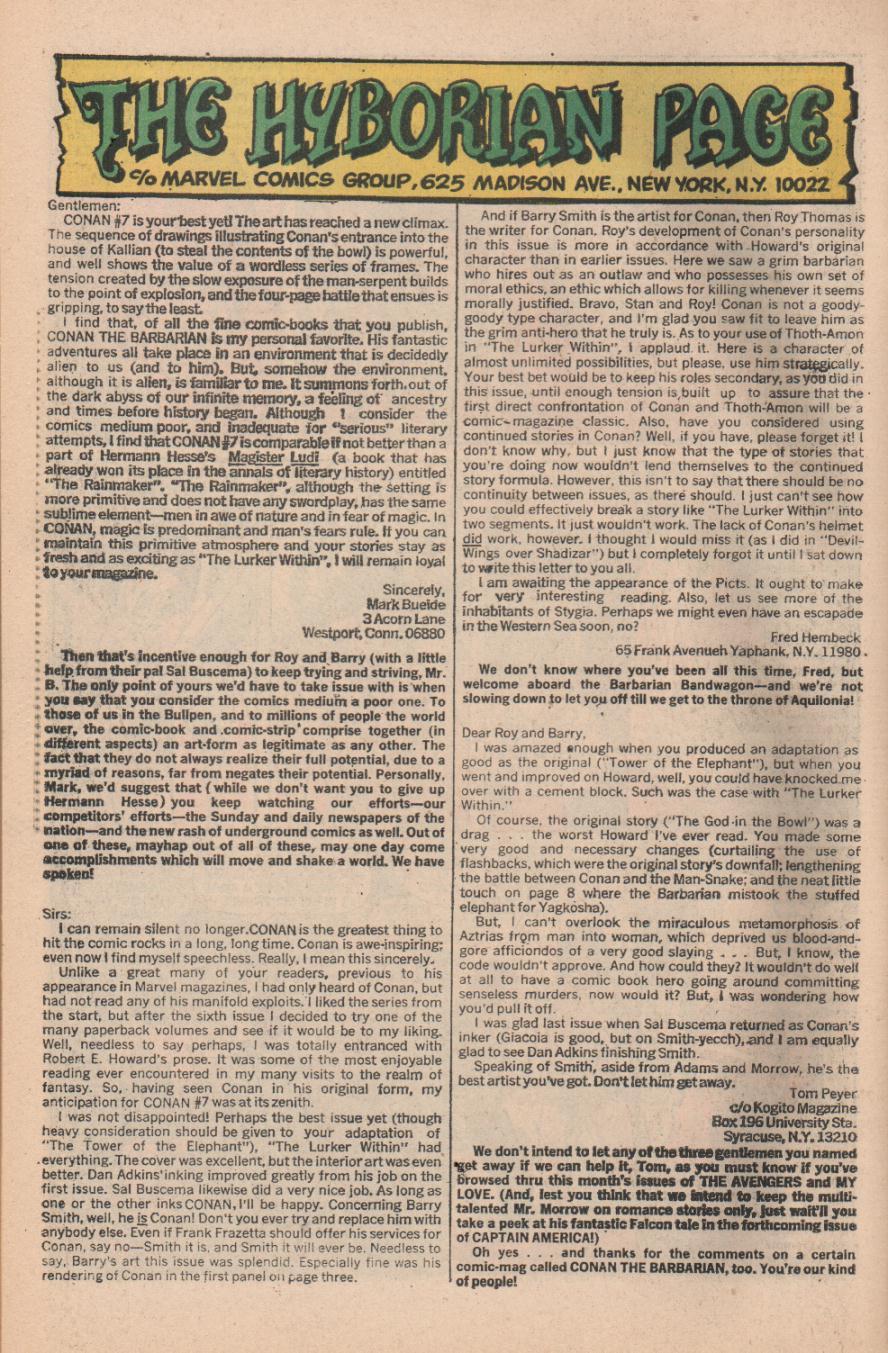 Conan the Barbarian (1970) Issue #11 #23 - English 48