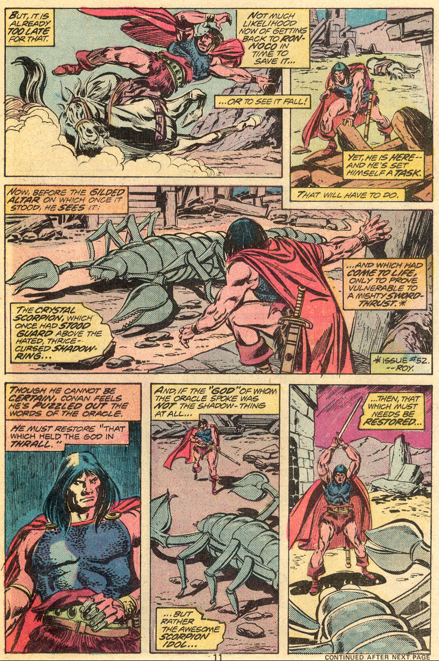 Conan the Barbarian (1970) Issue #55 #67 - English 8