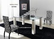 . espacio, el modelo de las sillas puede variar según su preferencia.