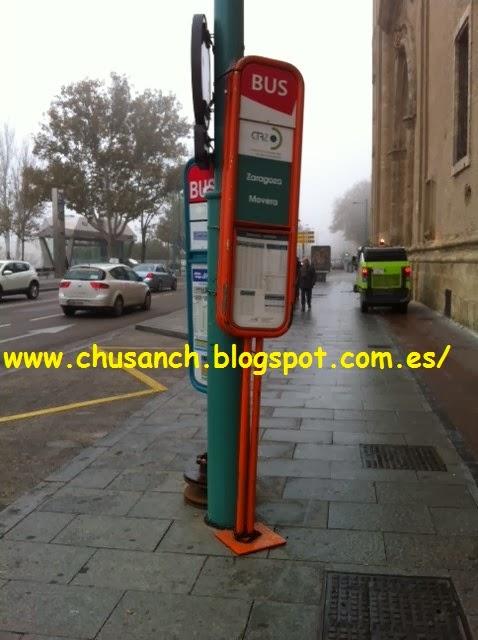 Cuarte De Huerva Autobuses   Transporte Publico En Zaragoza 12 2013
