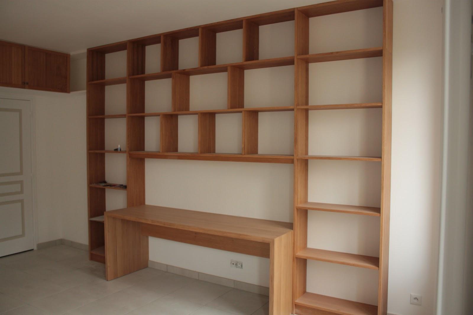 Racines meubles et agencements for Bureau bibliotheque