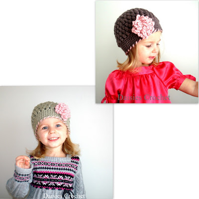 crochet girl hat pdf