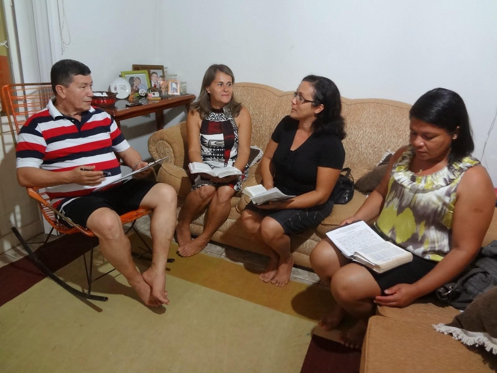 Foto da Equipe de Evangelização - Início dos Trabalhos (Igreja MBP)