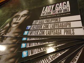 Lady Gaga Concert Manila MOA Philippines 2012