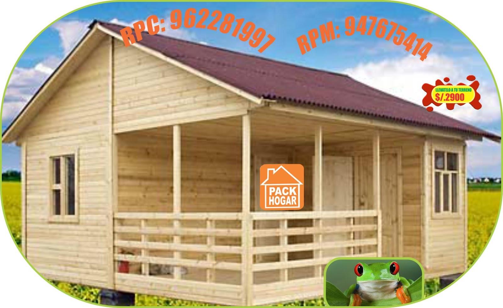 Diseño de moderna casa de campo en madera,incluye diseño de interiores