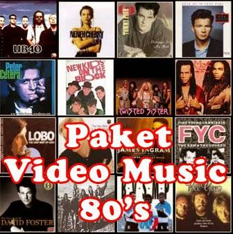 Paket Videomusik 80's (5DVD)