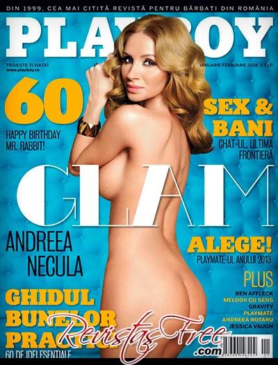 Playboy Romania - Andreea Necula - Janeiro/Fevereiro 2014