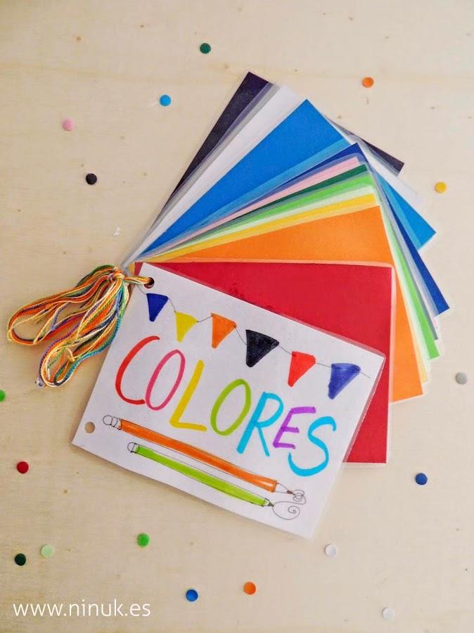 Cuento de colores manualidades - Como hacer colores ...
