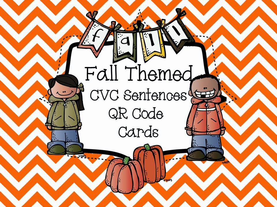 http://www.teacherspayteachers.com/Product/QR-Codes-for-CVC-Sentences-Fall-Themed-1450170