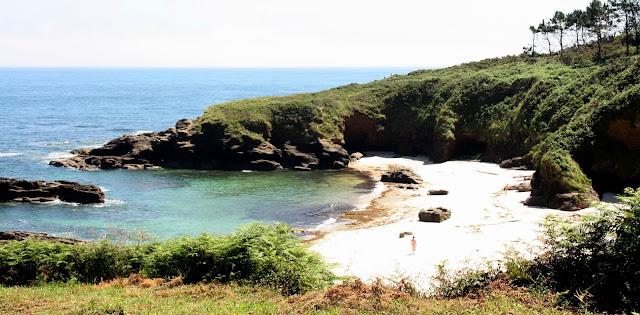 Area Brava nude beach (Lugo, Galicia, Spain)