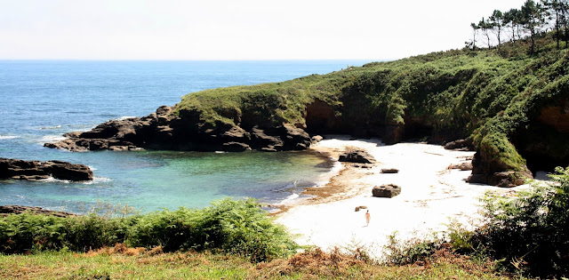 Playa nudista Area Brava (Lugo)