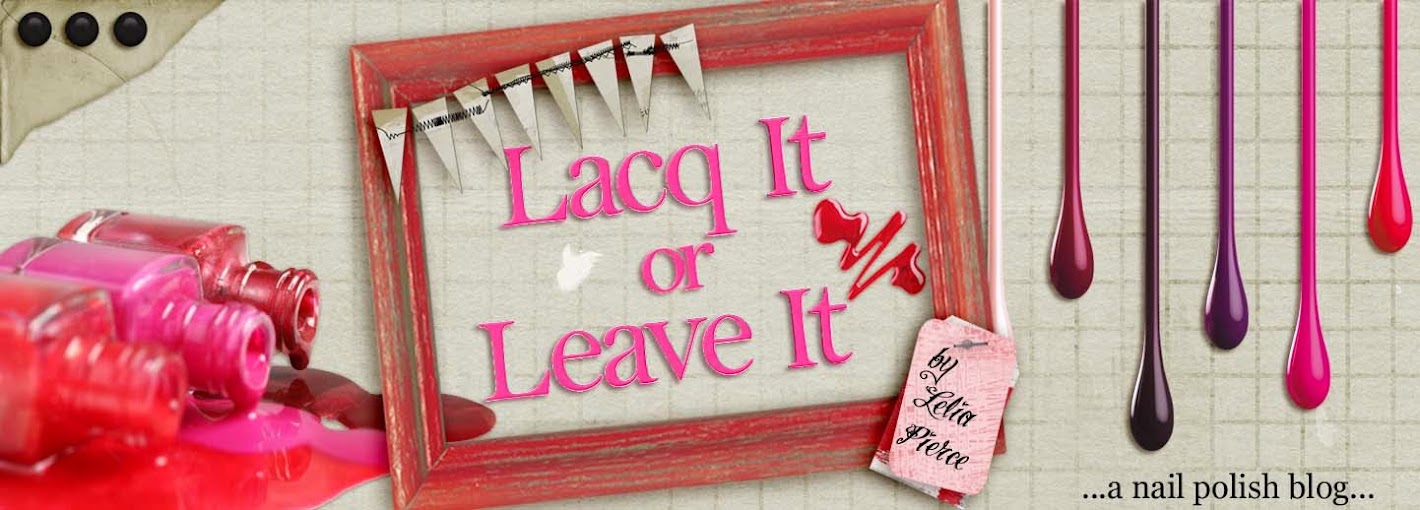 Lacq It or Leave It