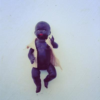 vintage black doll, baigneur noir vintage