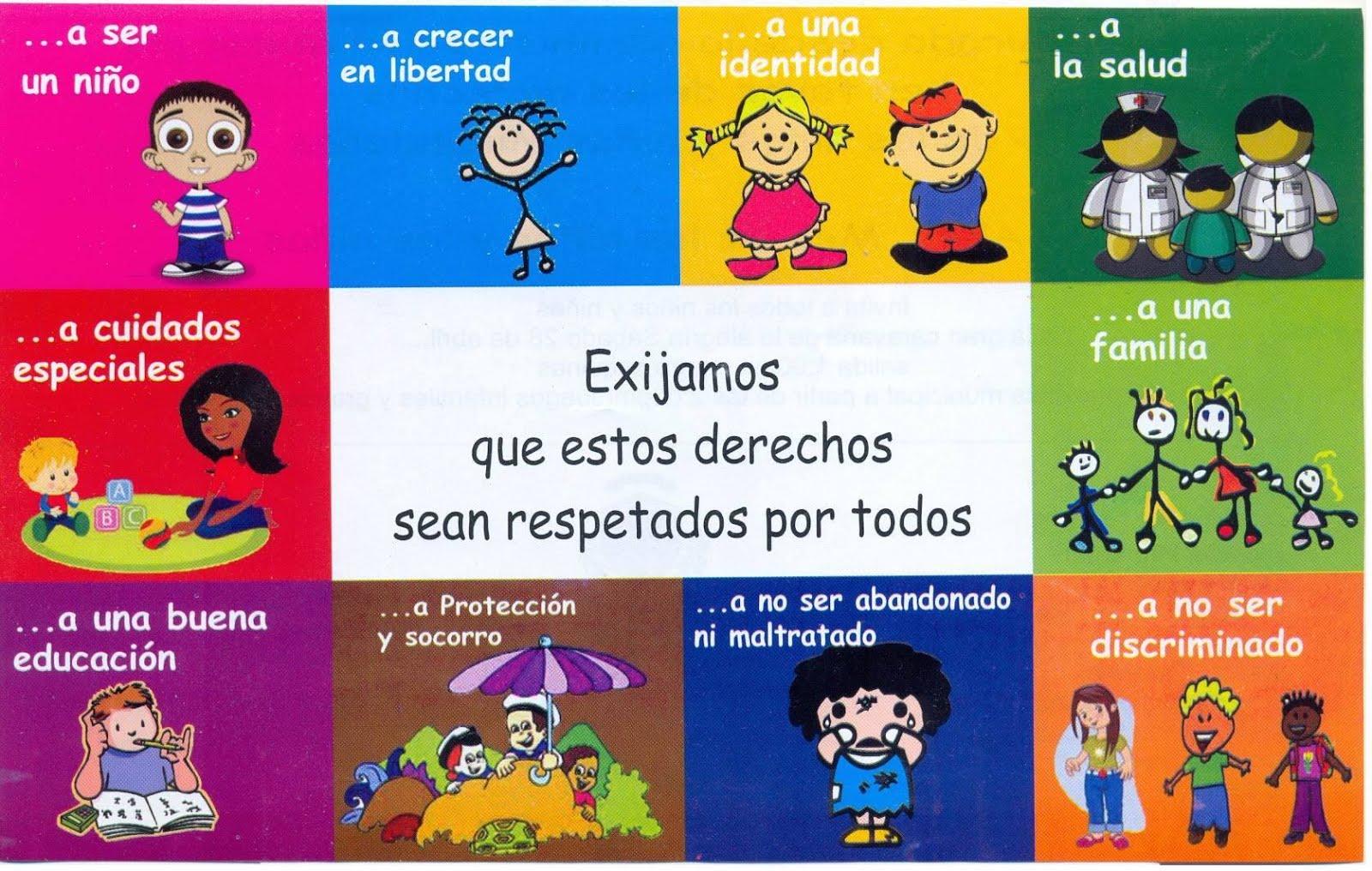 Derechos y obligaciones de los niños y niñas