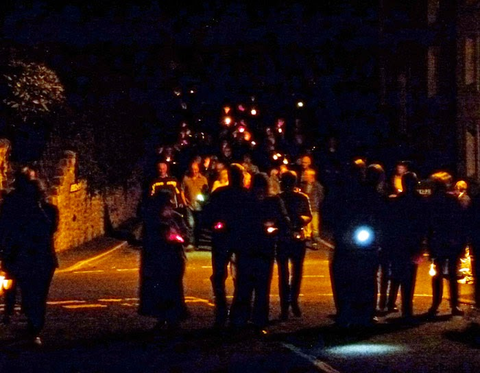 Burton in Lonsdale, Lights Out, 4 August 2014, 2300BST