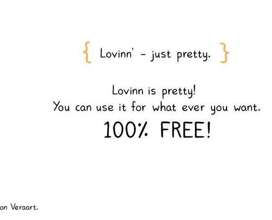 Lovinn Free Font