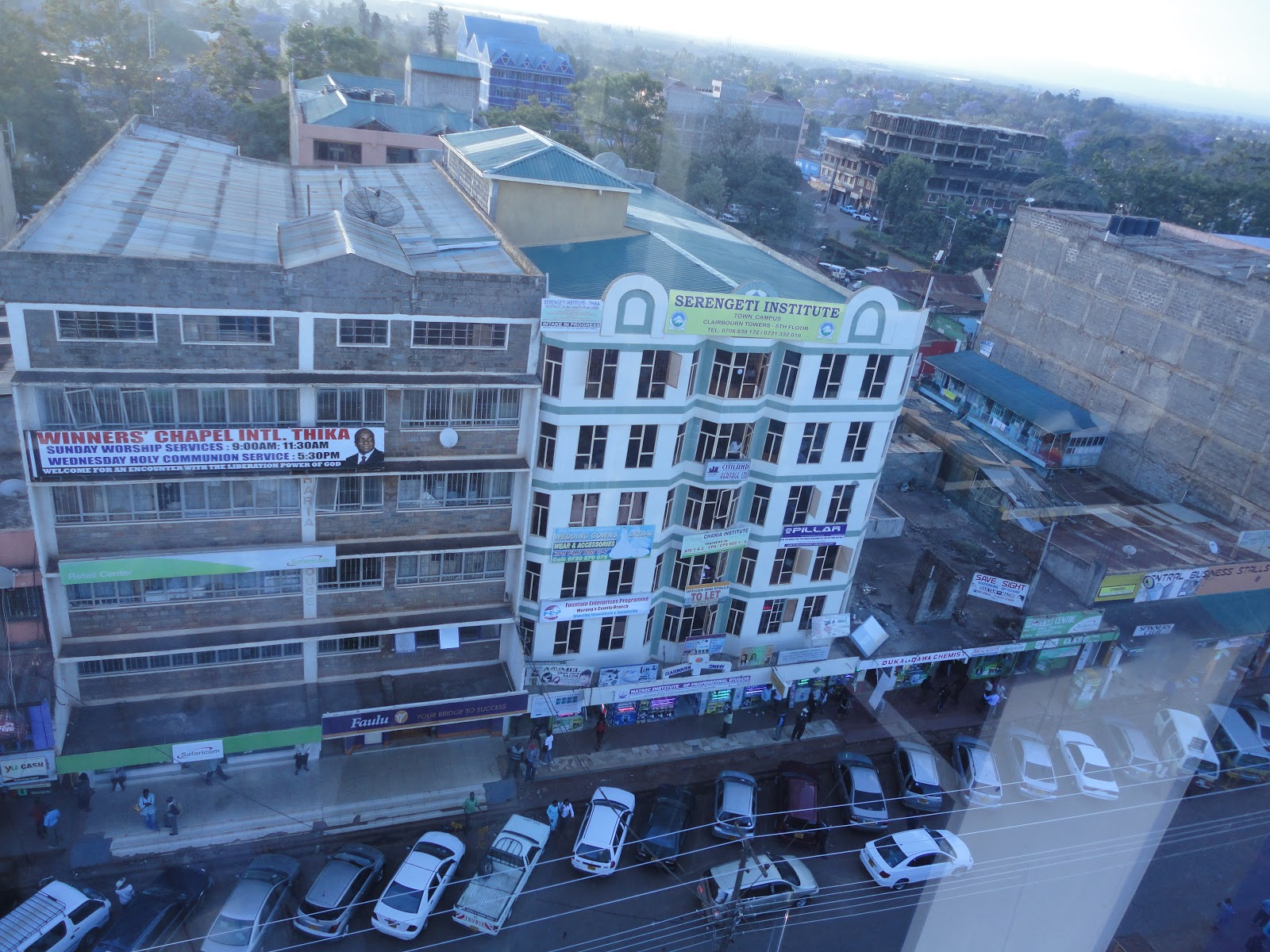 Image result for thika town aerial view