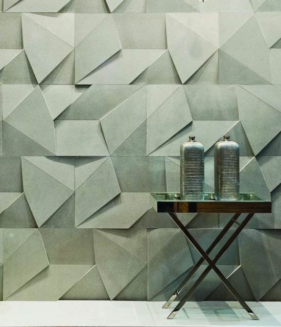 For the home unique wall treatments and textured walls for Cool wall patterns