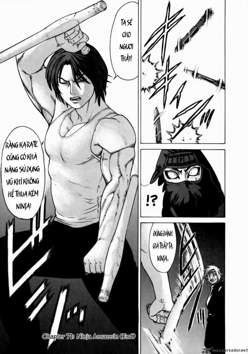 Karate Shoukoushi Kohinata Minoru chap 71 Trang 20
