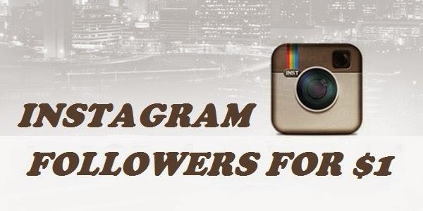 Instagram Followers $1