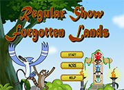 juegos  Regular Show Forgotten Lands