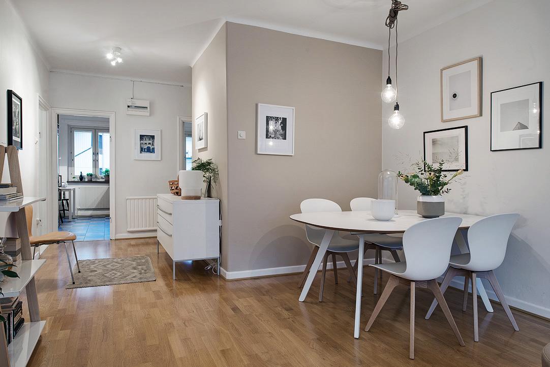 Muebles para casas peque as muebles nordicos para pisos - Piso pequeno estilo nordico ...