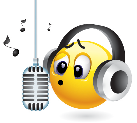Singing Smiley | Emoticon, Search and Ps