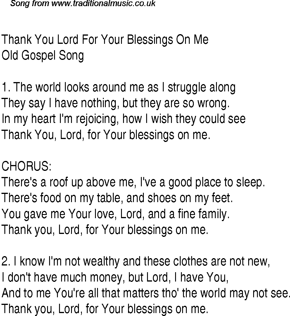 lord lyrics: