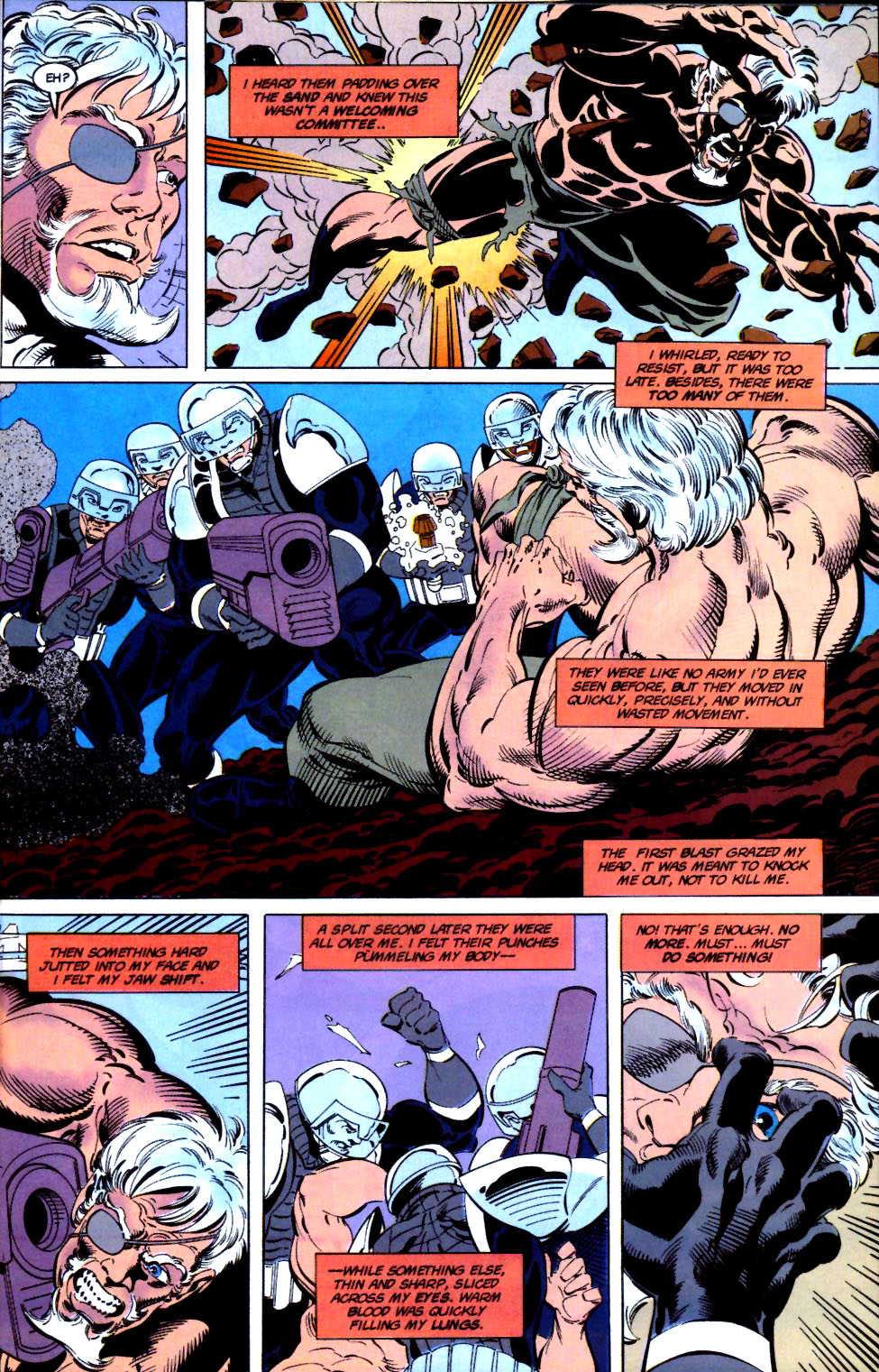 Deathstroke (1991) Issue #16 #21 - English 19