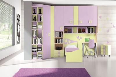 decorar habitaciones mariposas