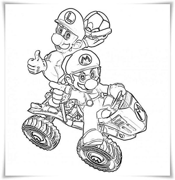 Ausmalbilder Zum Ausdrucken Ausmalbilder Mario