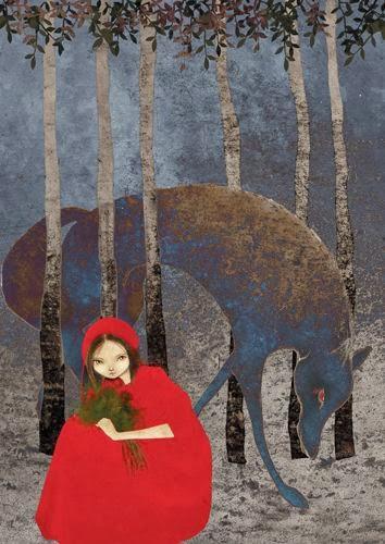 Baśnie na Warsztacie, Bracia Grimm, Czerwony Kapturek, Red Riding Hood, Mateusz Świstak