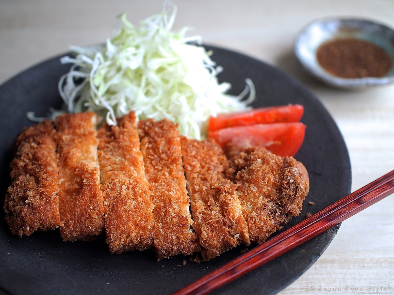 Japanese Tonkatsu Pork Cutlet Recipe — Dishmaps