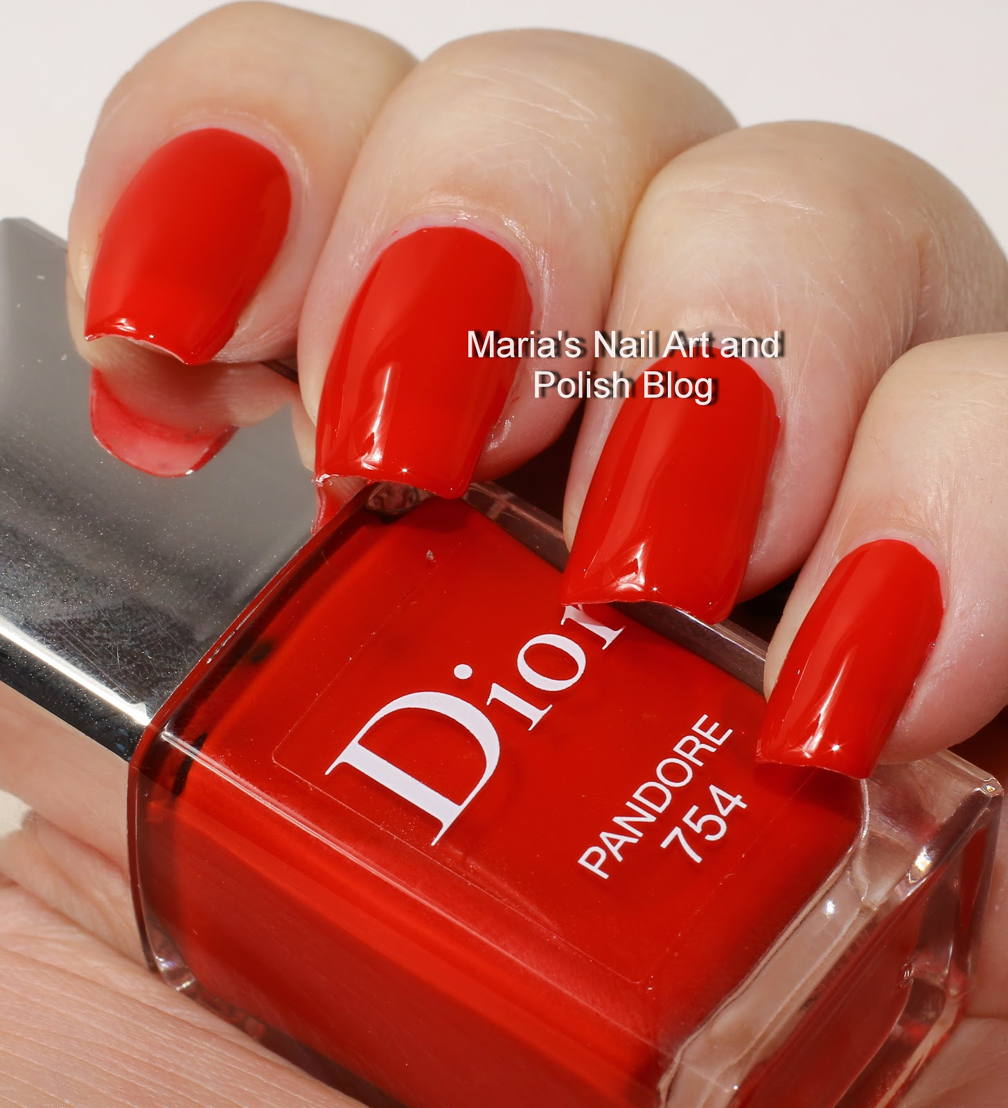 Marias Nail Art And Polish Blog Flushed With Stripes And: Marias Nail Art And Polish Blog: Dior Pandore 754 Swatches