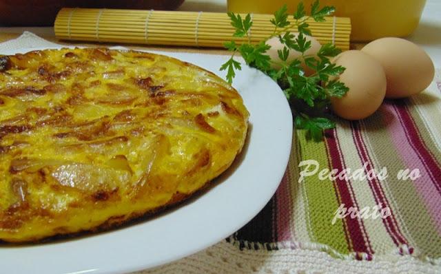 Receita de tortilha de batata