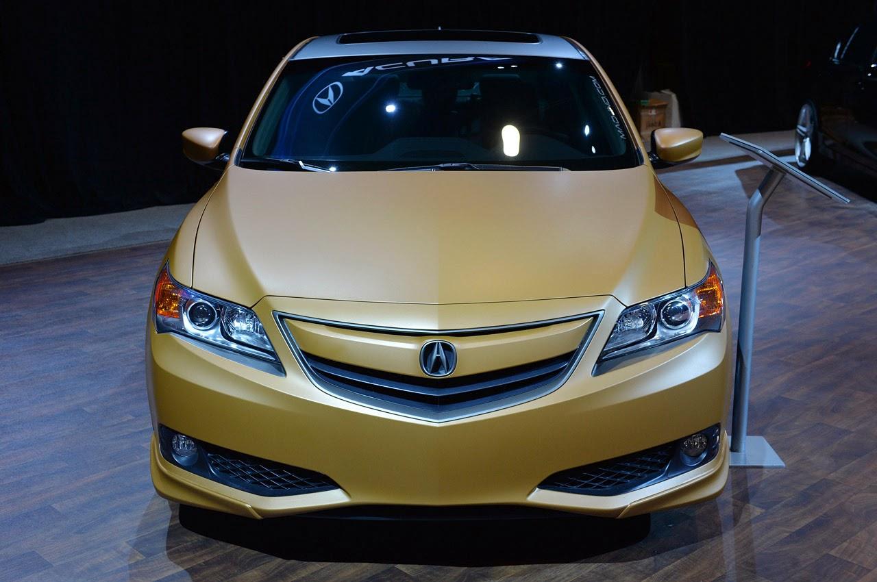 u00a9 Automotiveblogz: Acura Street Performance ILX: SEMA 2013 Photos