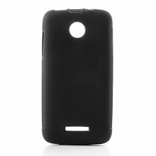 Skidproof TPU Jelly Case for Lenovo A390 - Black