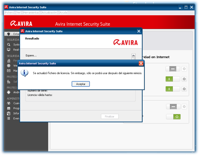 Avira internet security 2014 licencia hasta 2020 identi for Tr th td table html