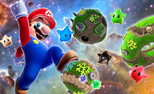 super mario galaxy nintendo wii game