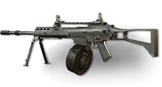 MG36 - Modern Warfare 3 Weapons